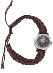 ZEGAREK DAMSKI KAHUNA AKLF-0021L BROWN FASHION