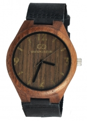 Zegarek męski Giacomo Design GD08004 Walnut Wood